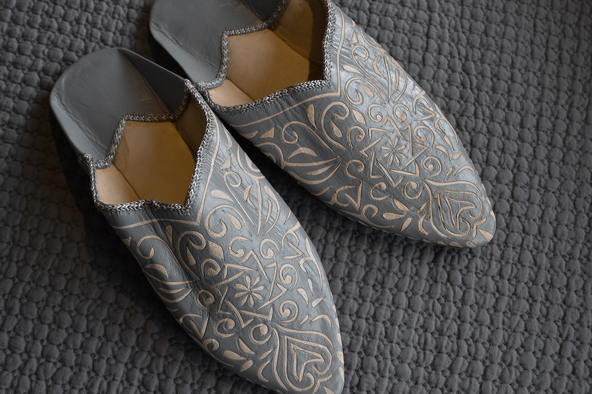 moroccan decorative slippers