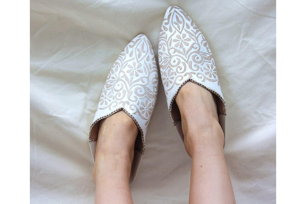 moroccan decorative slippers