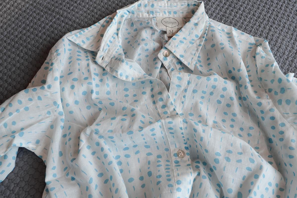 ebd9ca39af Aqua Dots Soft Cotton Nightshirt
