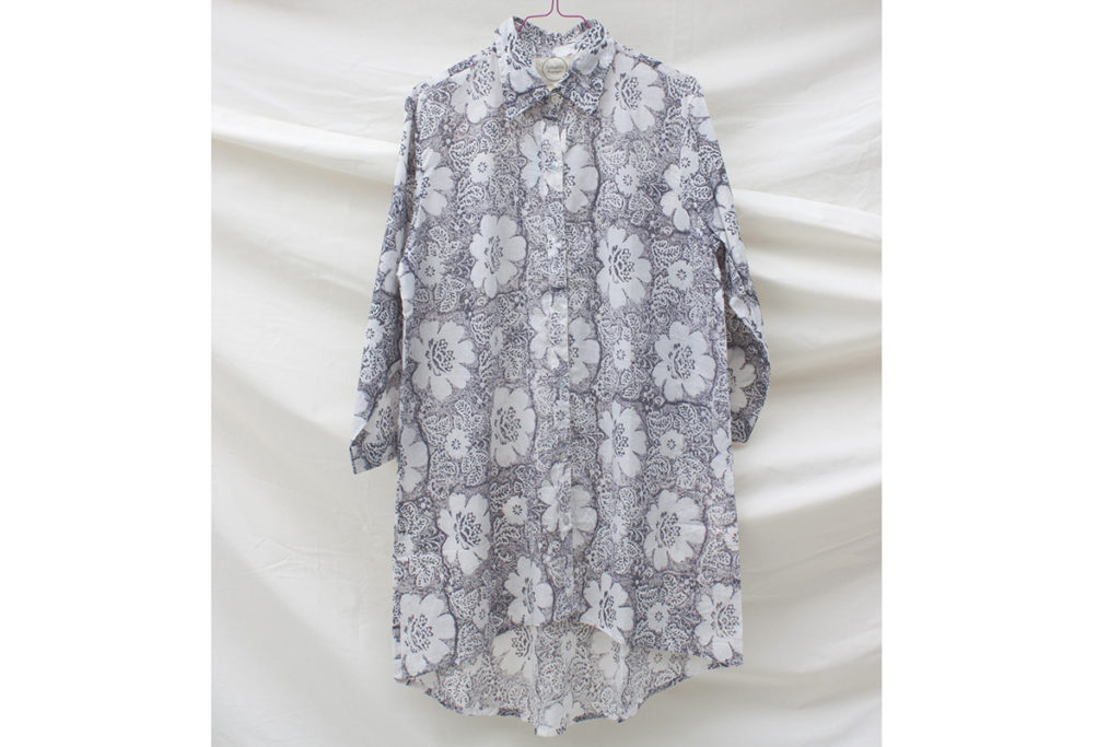 grey-floral-nightshirt