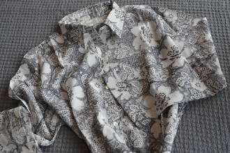 grey-floral-nightshirt