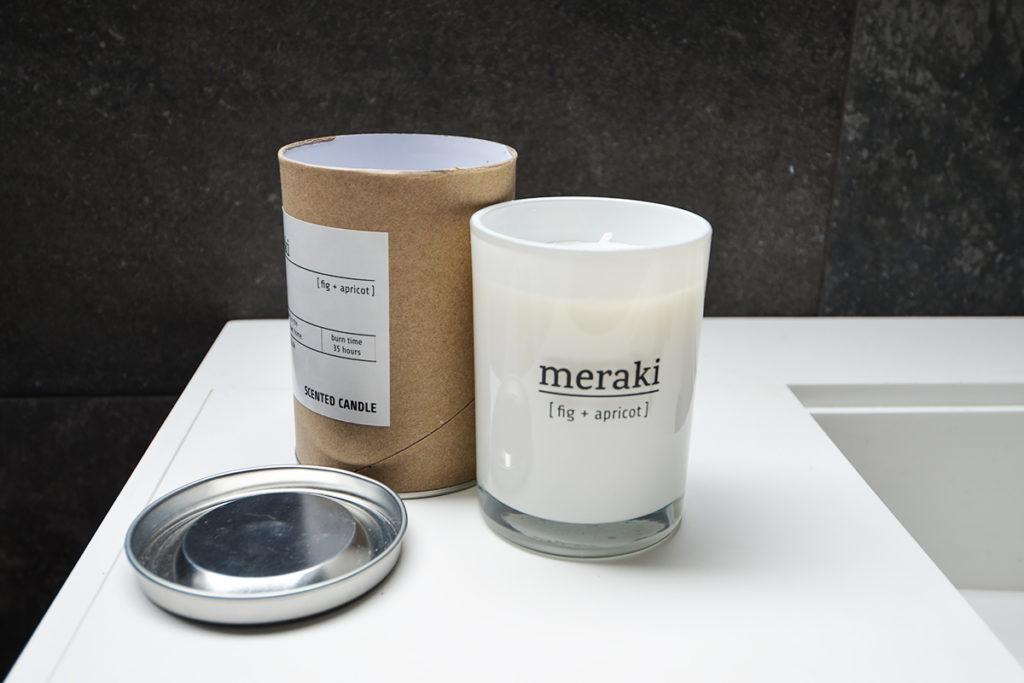 meraki scented candles