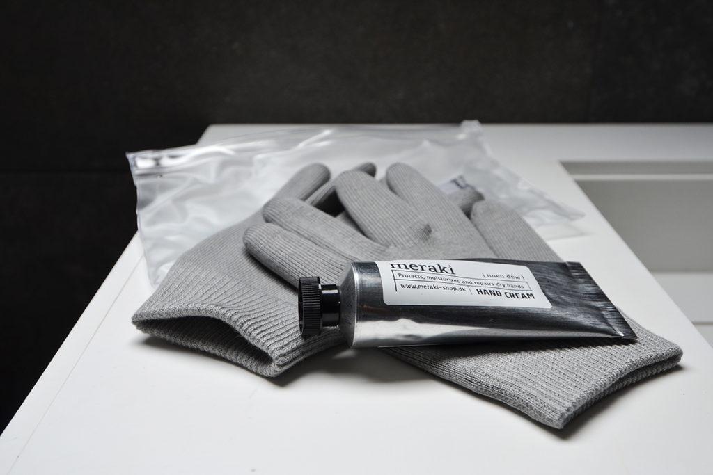 Meraki hand care sets