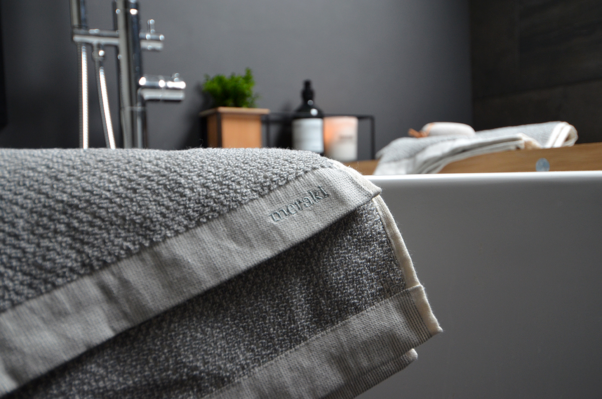 Meraki Cotton Towels Luxury Towels Natural Bed Company