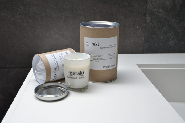 meraki scented candles