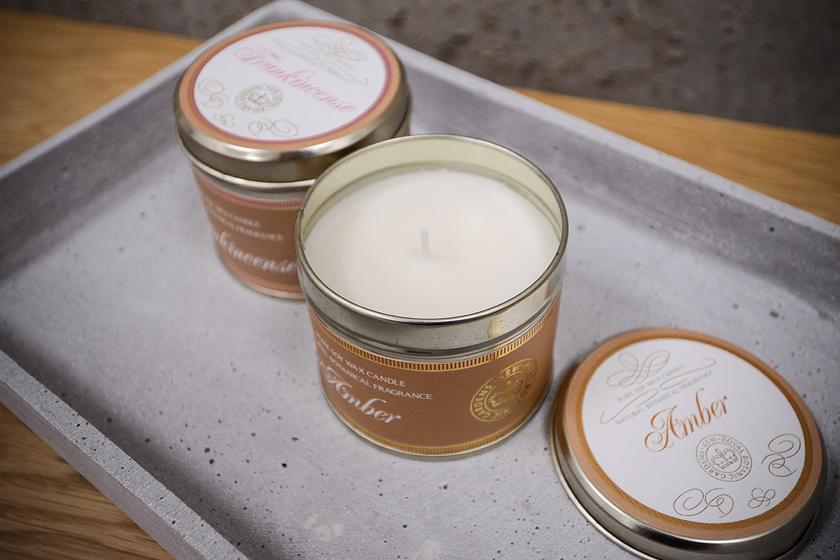 Scented Candles In Tins Kew Natural Bed Company