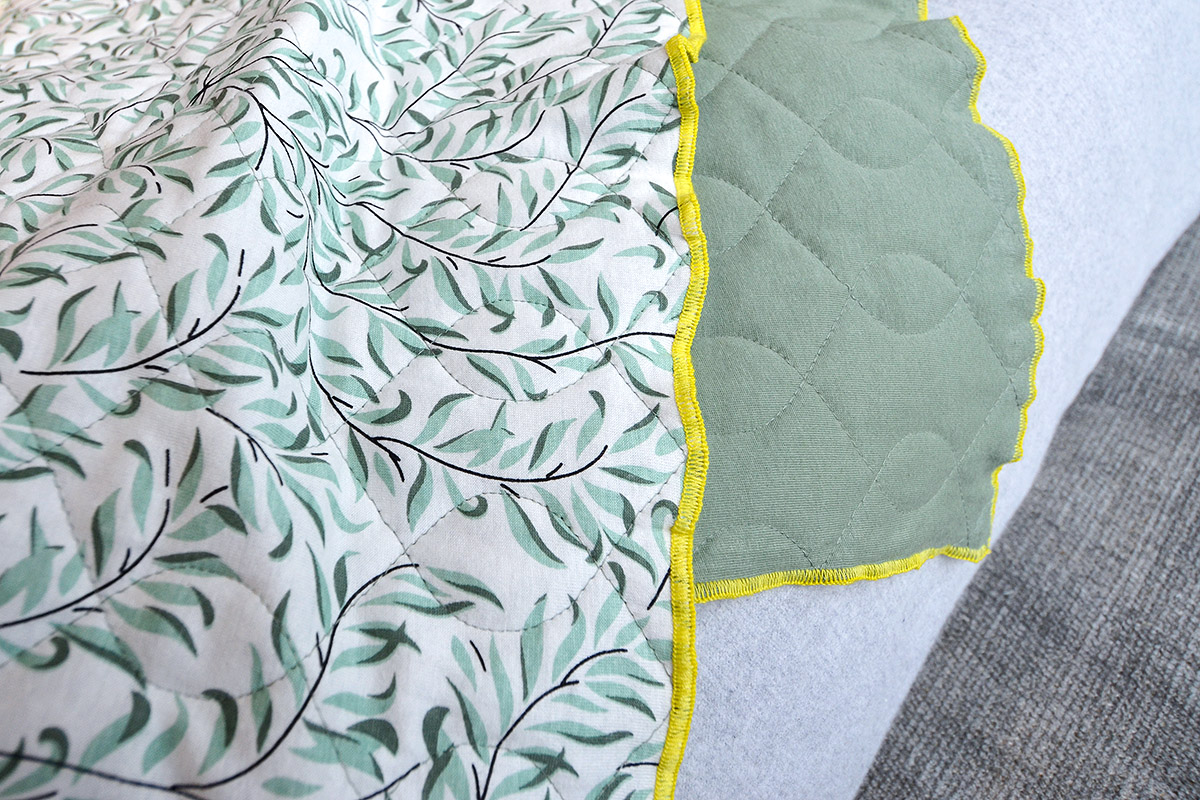 broste-organic-cotton-quilt-green