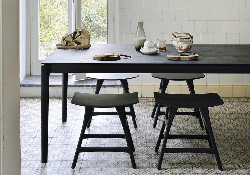 1200x800 Oak Osso stool black