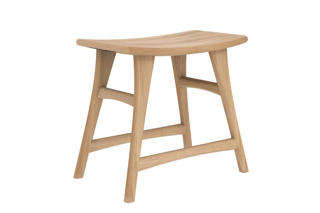 1200x800 Oak Osso stool - low 3q