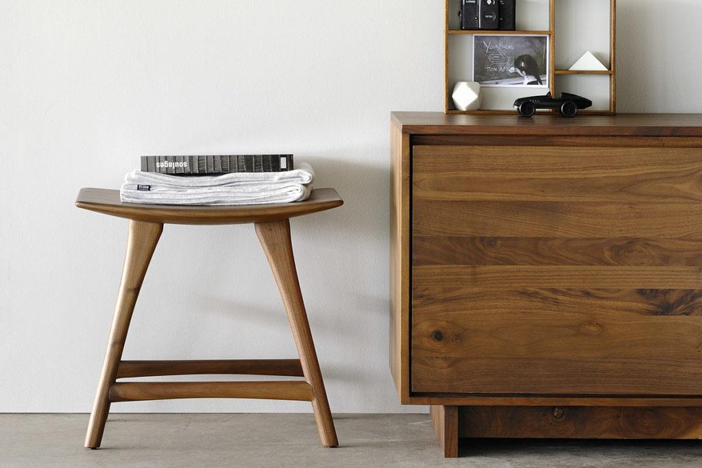 1200x800 Walnut Osso stool low