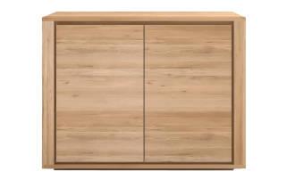 Ethnicraft Oak shadow cupboard 51370