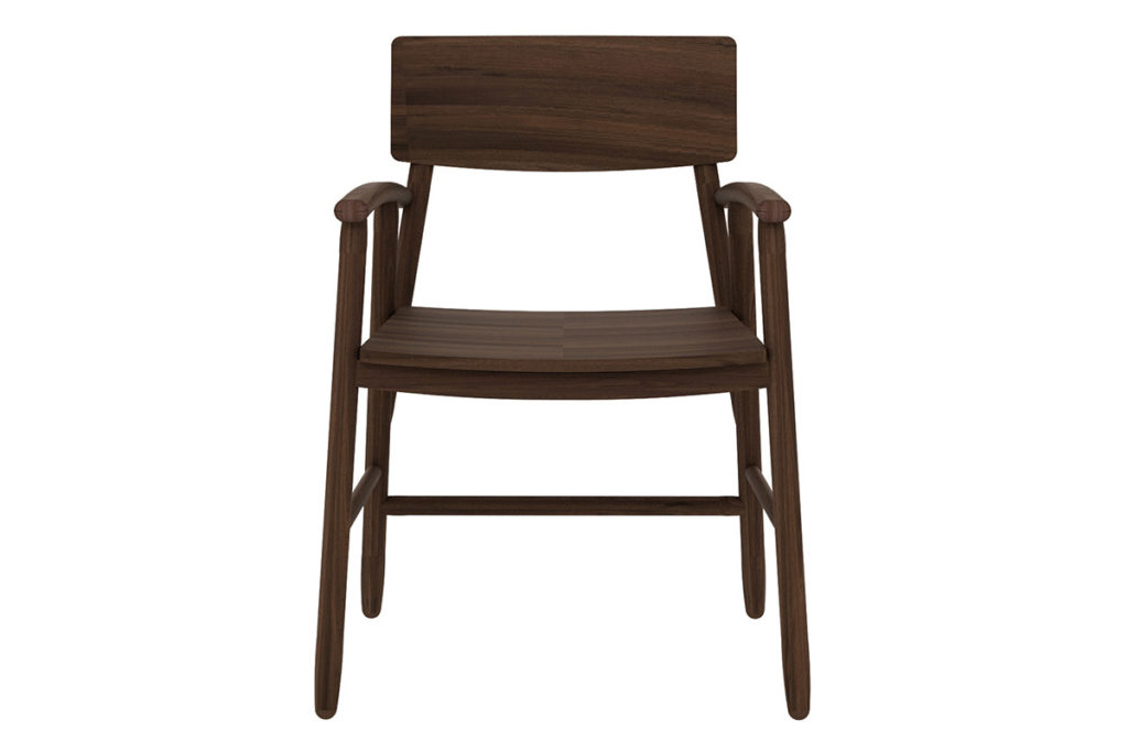 Ethnicraft Walnut Bjorsing armchair