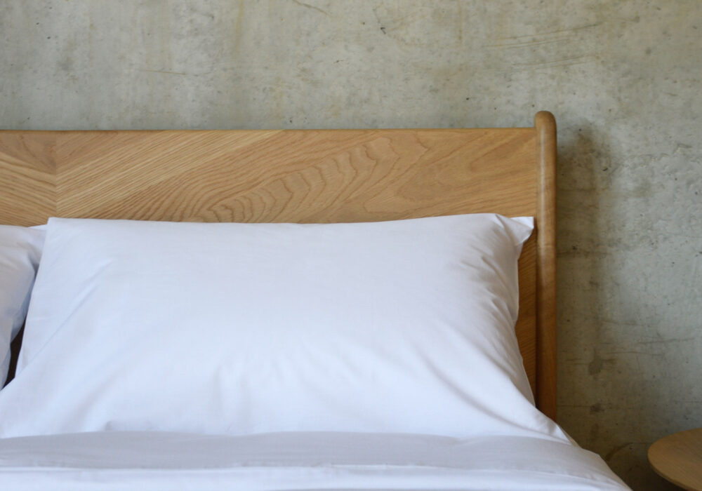 naturally hypo-allergenic and Anti-bacterial White Duvet set made from Bamboo fibres