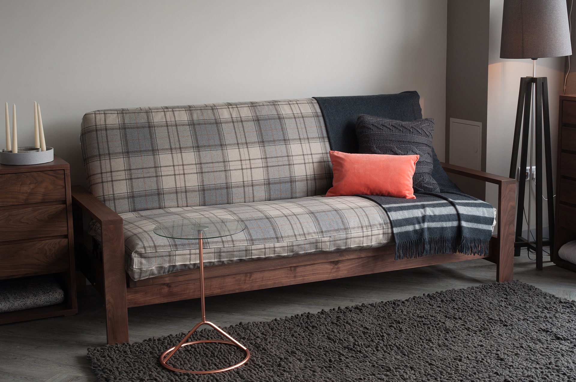 Black Lotus cuba sofa-bed main roomset