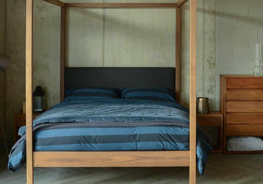 Blue-stripe-duvet-set