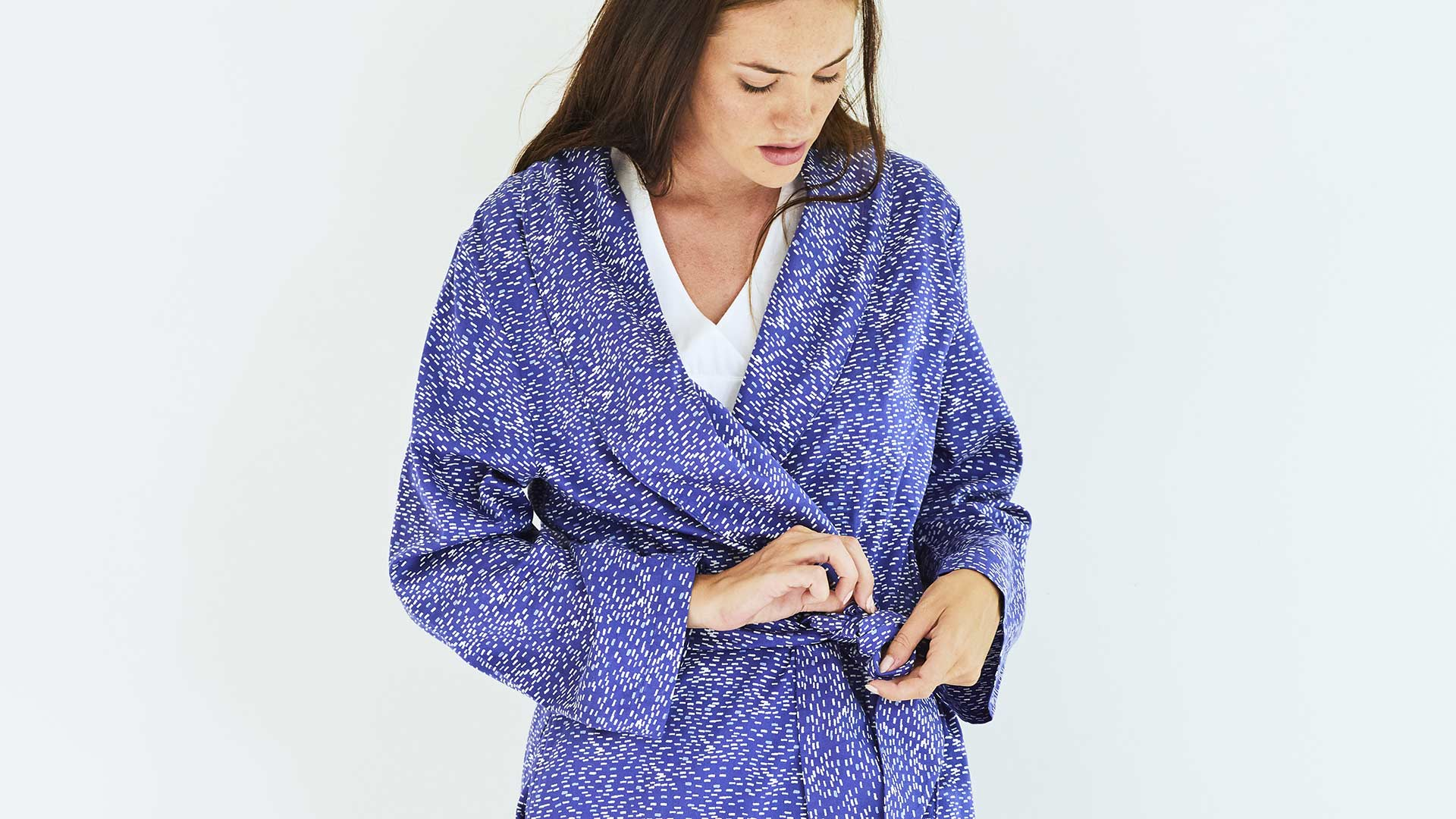 Calm Water Luxury cotton Robe