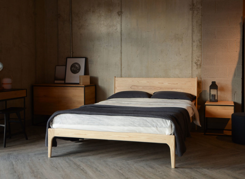 Solid Oak Bedside Tables from Natural Bed Company