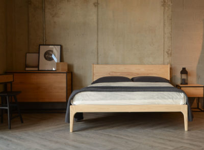 solid ash Camden bed