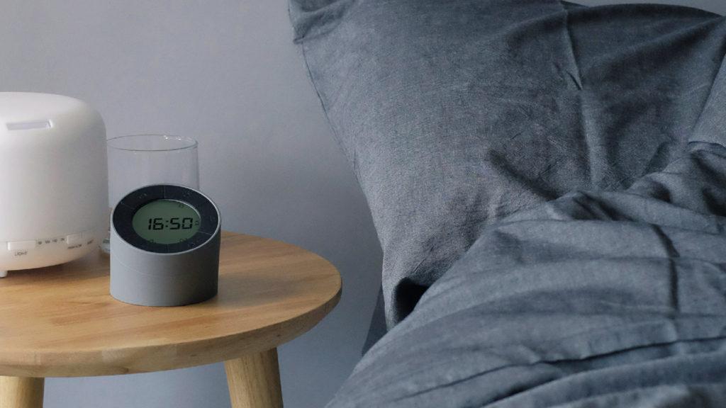 Edge-bedside-alarm-clock-grey