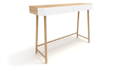 Ethnicraft-Hall-console-table-white