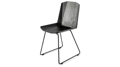 Facette black oak chair from Ethnicraft.