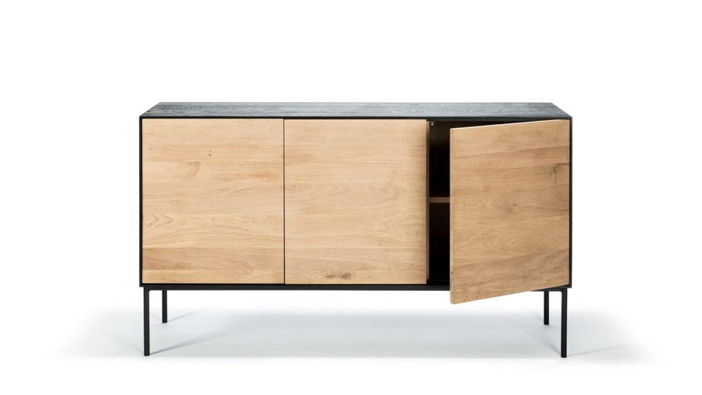 Blackbird cupboard in aok with three drawers