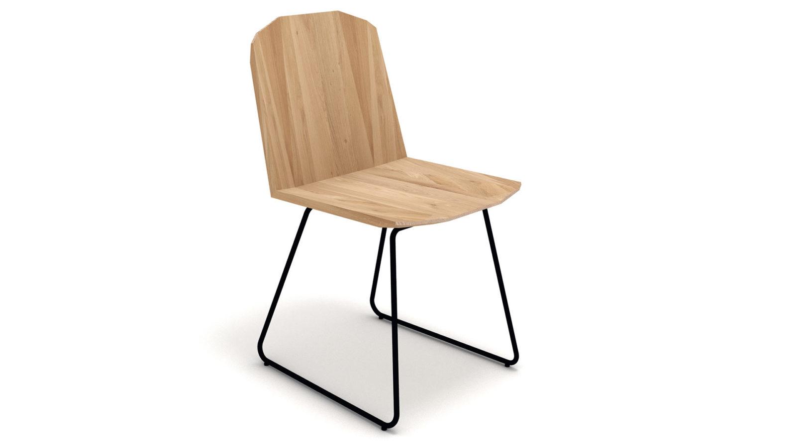 Ethnicraft-Facette-chair-Oak-3q