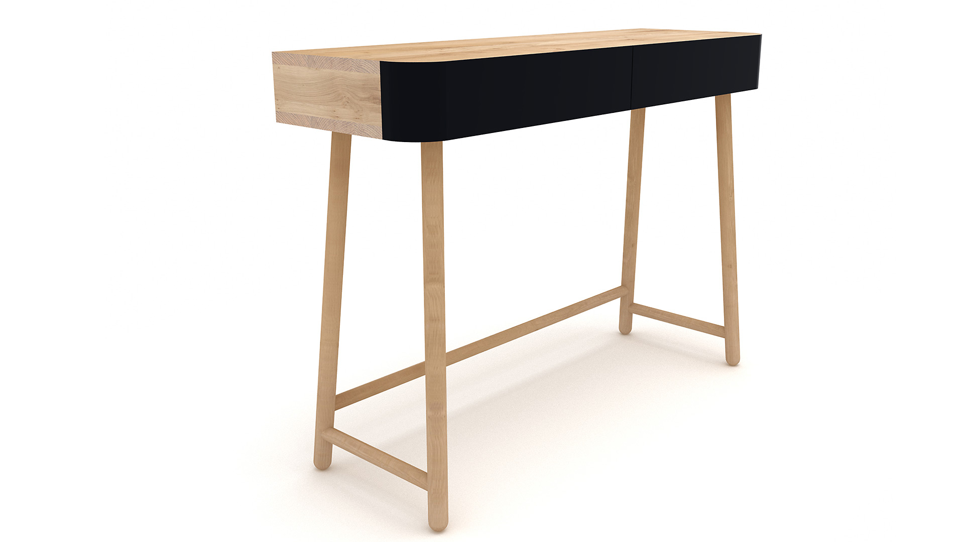 Ethnicraft-Hall-console-table-black