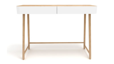 Ethnicraft-Hall-console-white-and-oak