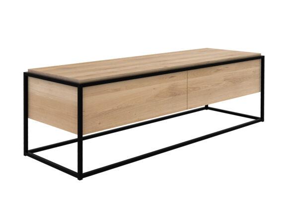 Ethnicraft-Monolit-low-cupboard-Oak