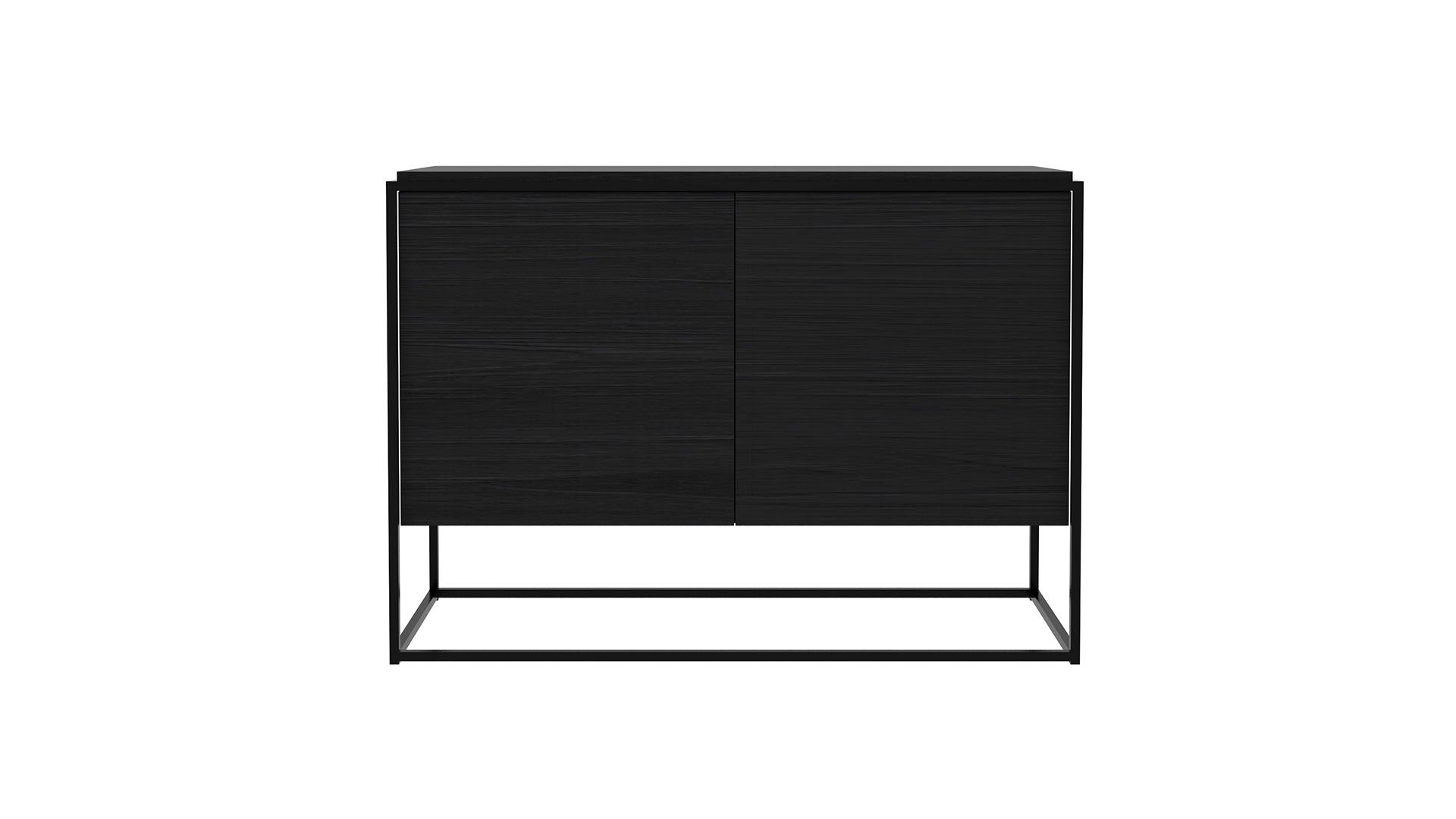 Ethnicraft-Monolit-cupboard-Black Oak black-frame