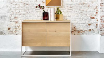 Ethnicraft-Monolit-sideboard-white-frame-Oak
