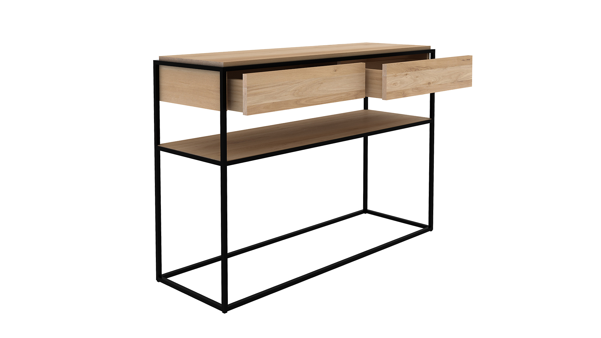 Picture of: Monolit Console Table Ethnicraft Natural Bed Company