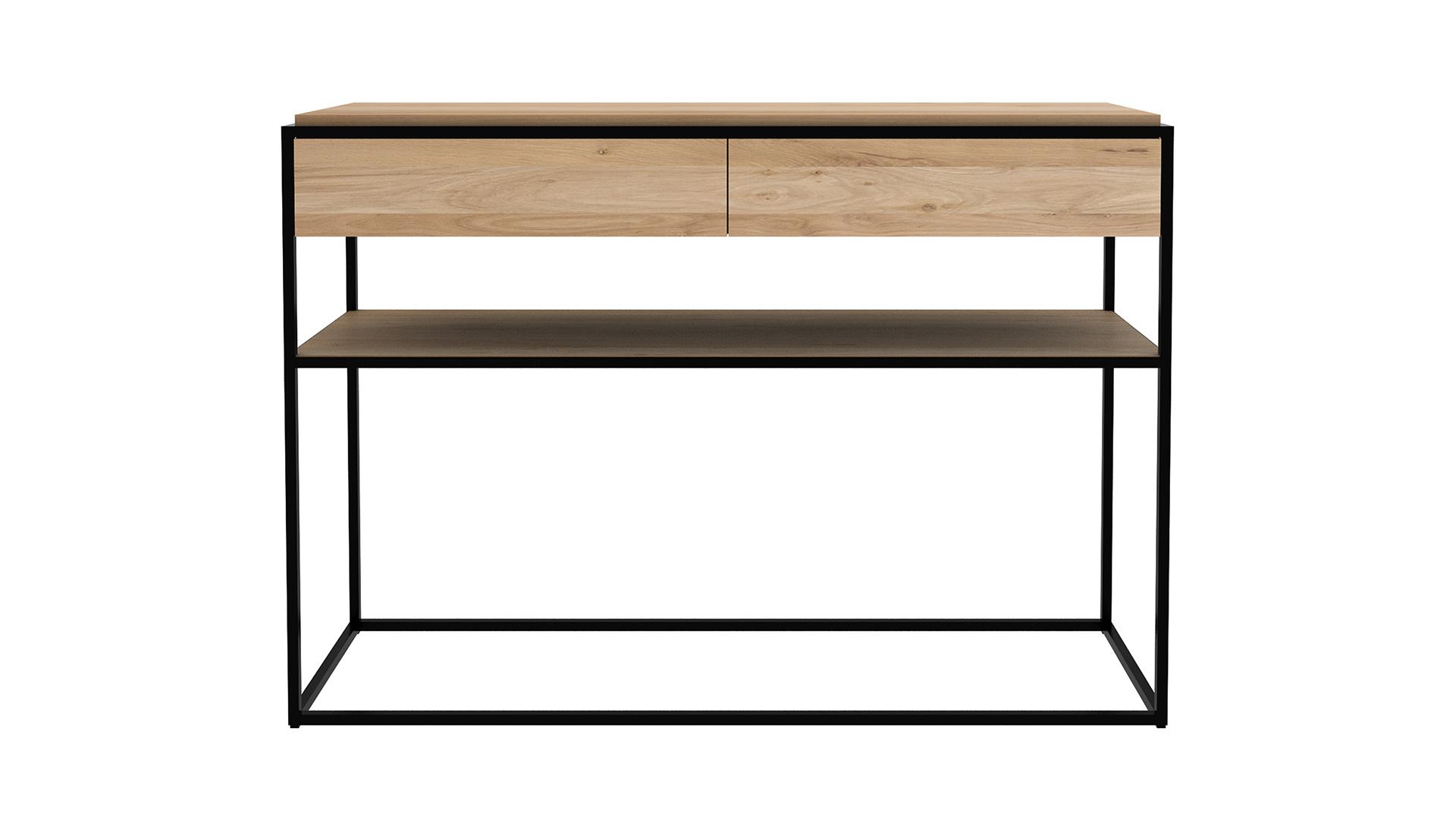 Ethnicraft-Oak-Monolit-console