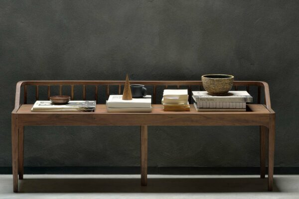 Ethnicraft-Spindle-bench-LS-Walnut