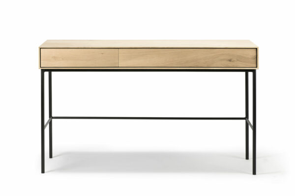 Whitebird table with two drawers