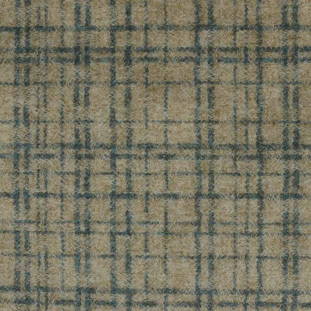 Fabric Swatch Amsterdam - Beige & Petrol