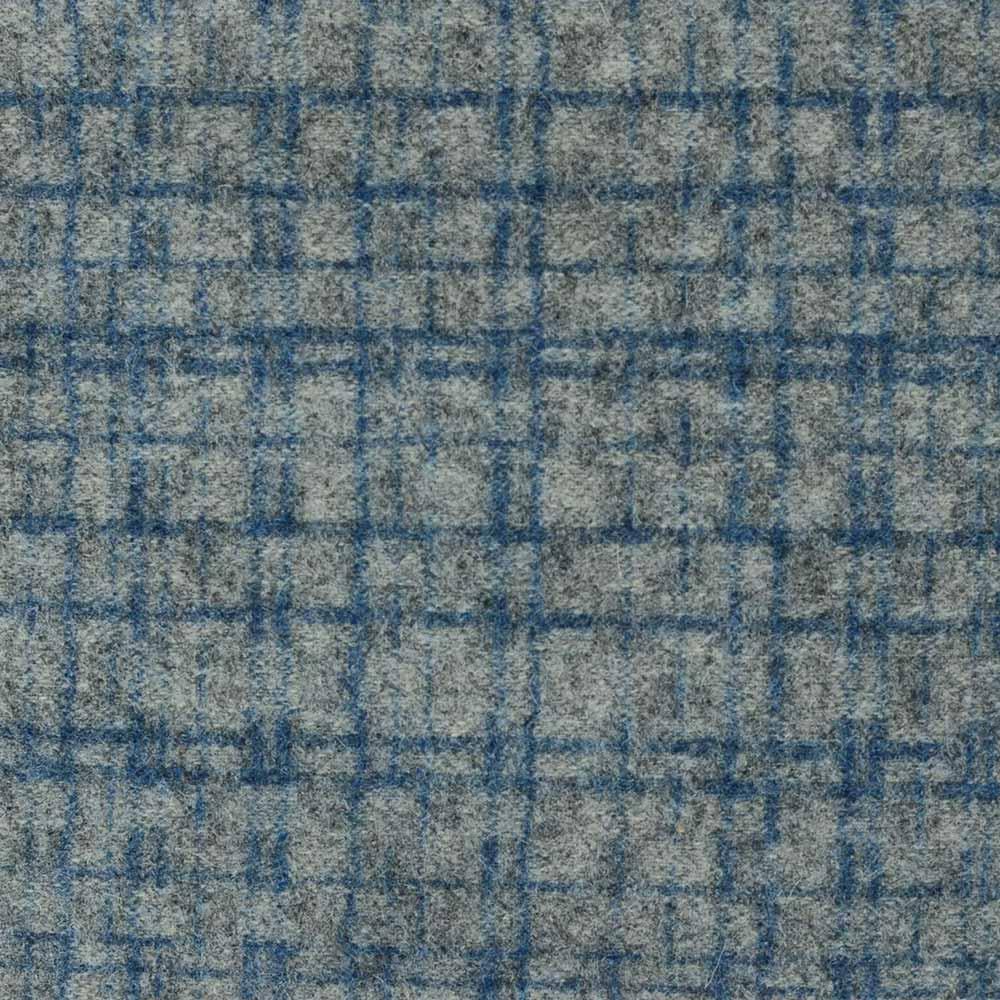 Fabric Swatch Amsterdam - Silver & Denim