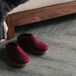 Glerups slippers - cranberry