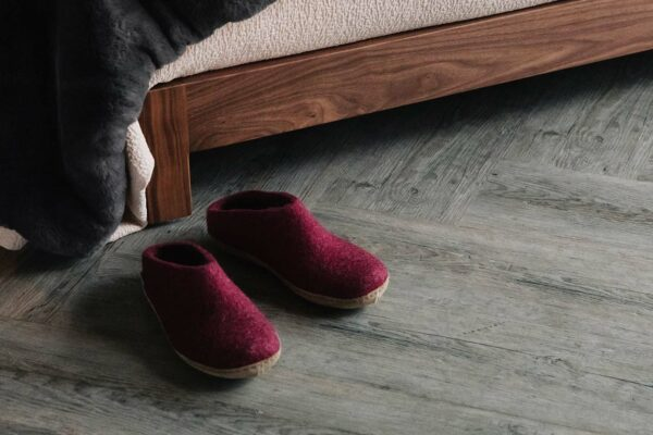 Glerups slippers - cranberry