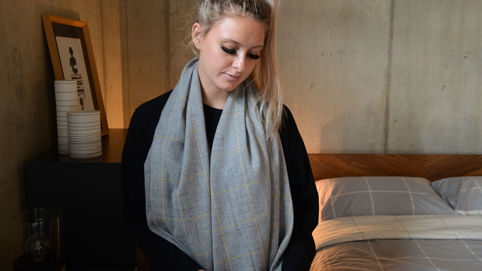 luxury cashmere and merino scarves