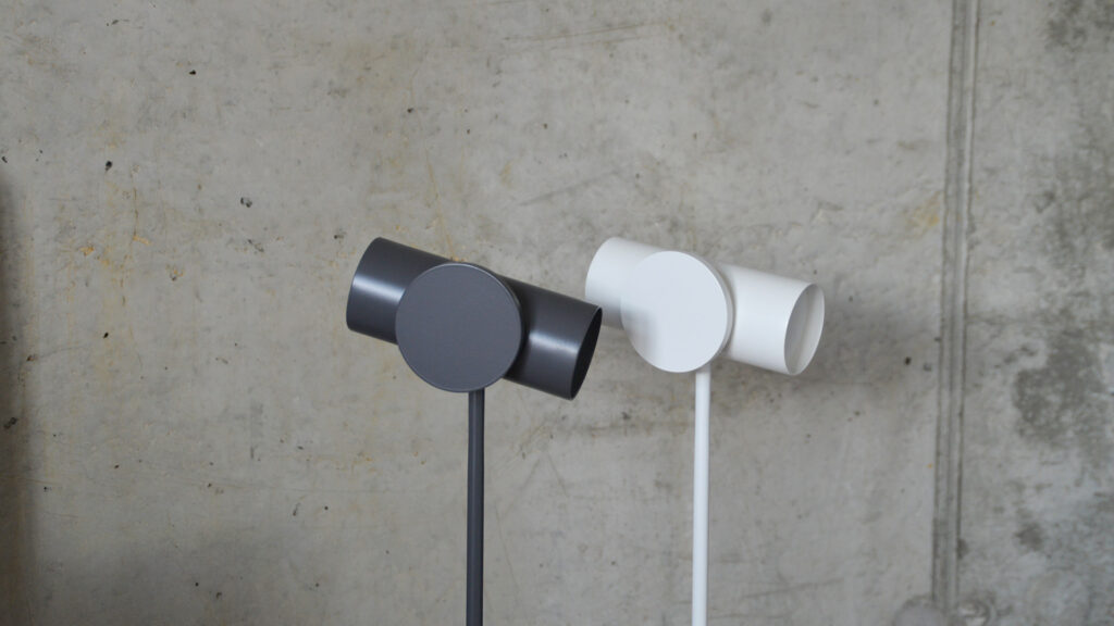 LED spotlights in white and grey, a closer look at the shades