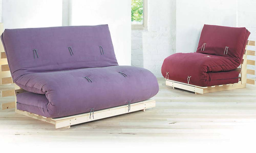 Japanese style futons sofa beds beds blog natural for Sofa bed japan