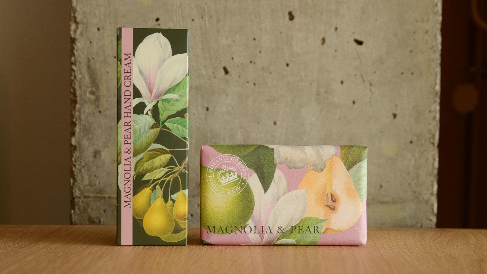Kew Gardens hand care set magnolia & pear