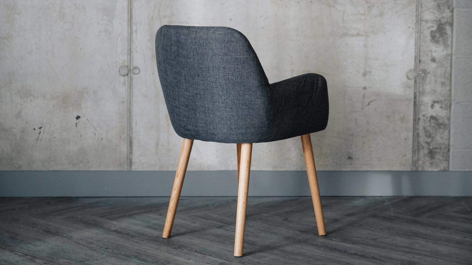 modern dining chair with arms