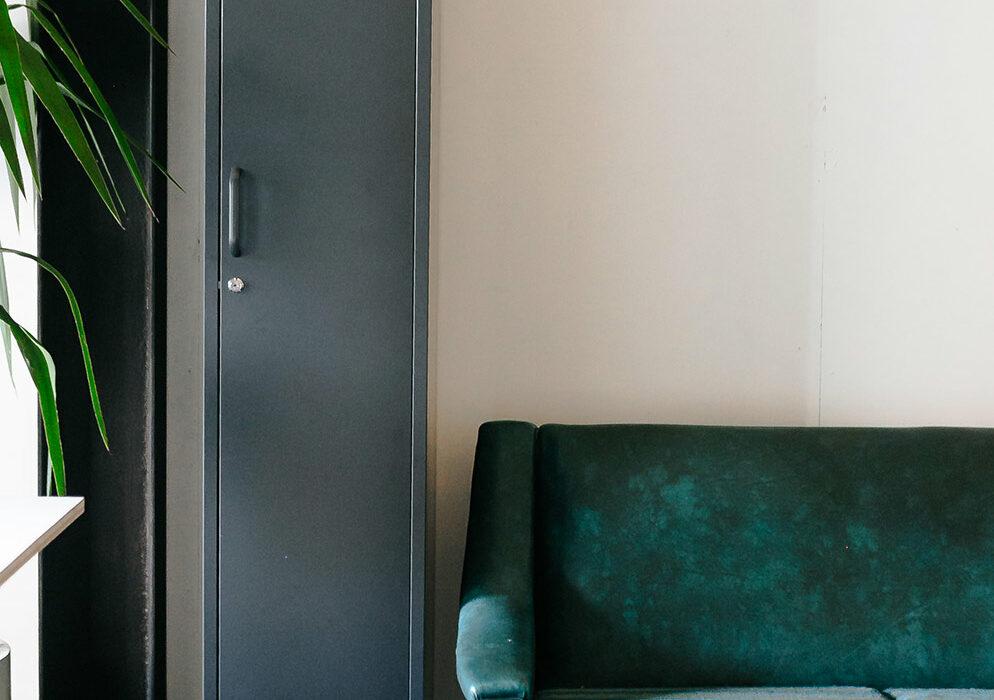 Locker-slate-slim-in-lounge
