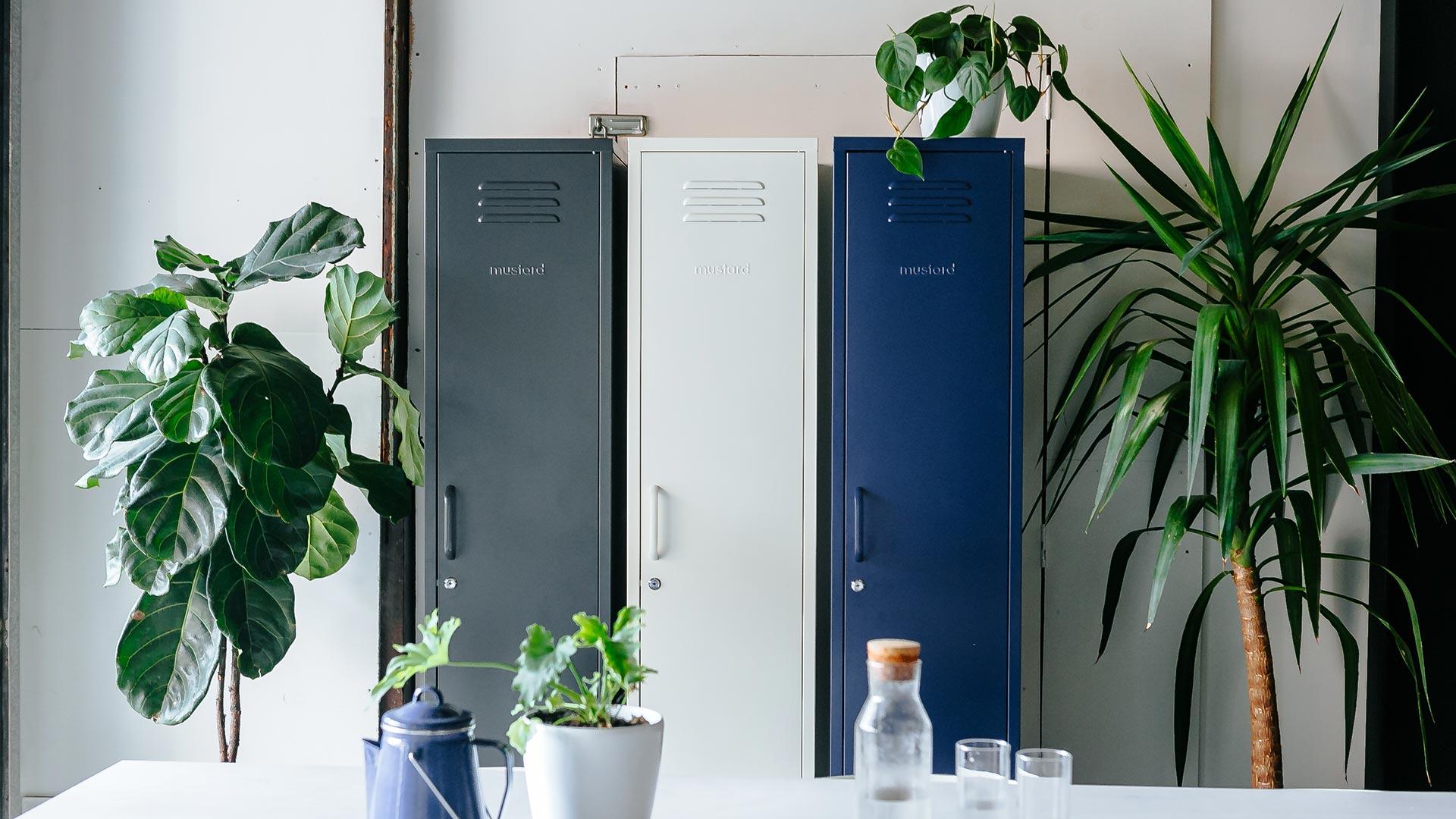 Extra Slim Under Bed Storage: Tall & Skinny Lockers