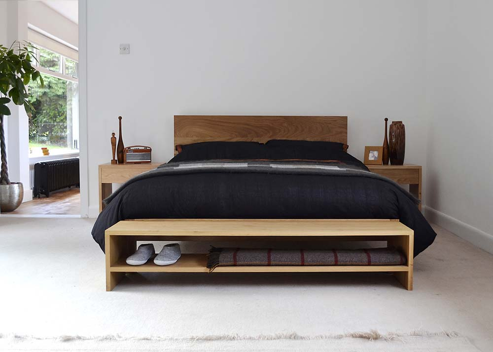 Solid Wood Beds - Twin Beds