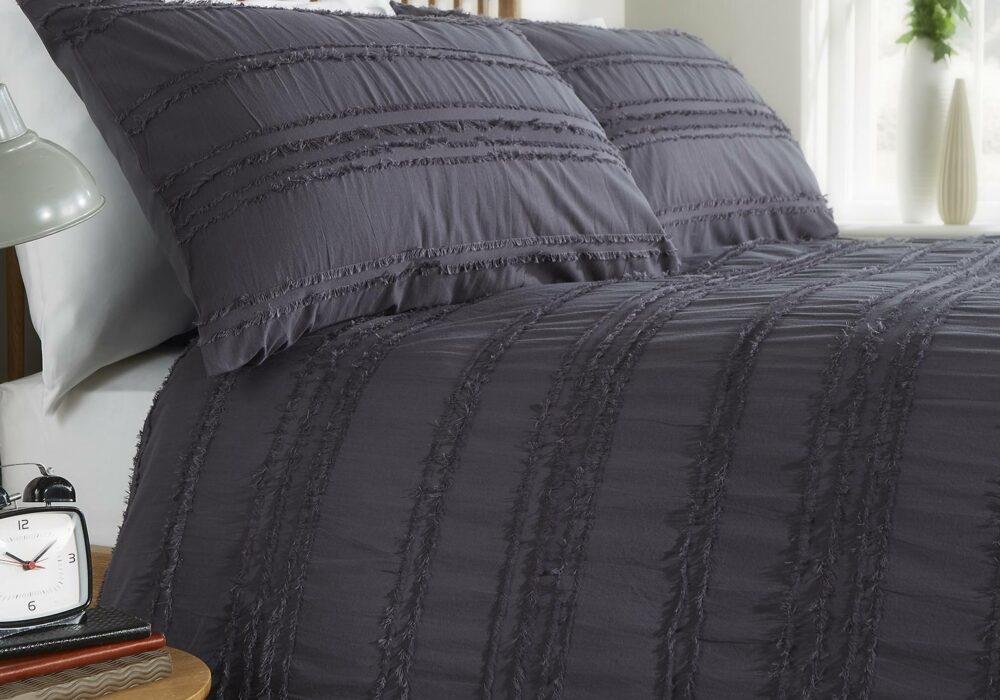 Mayfair-Studio-cotton-bedding-graphite