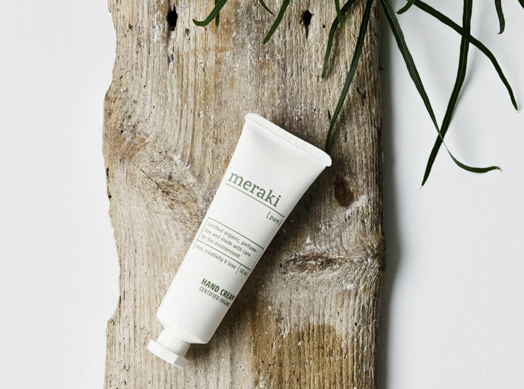 organic perfume free moisturising hand cream